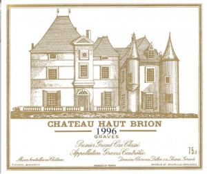 haut brion 1996