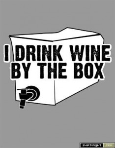wine in a box photo
