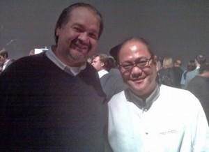 Chef Morimoto-and-Raymond