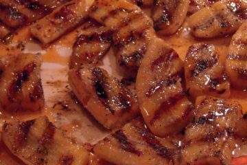 Grilled Bananas with Chai Syrup