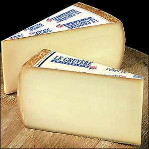 Gruyere is one of the best grocery store cheeses