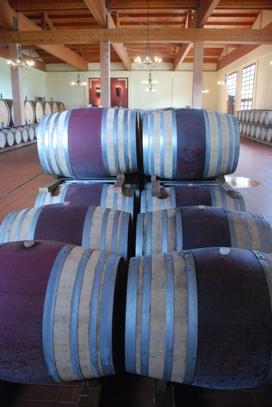 Montemassi Barrel Room