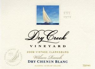 Dry Creek Vineyards 2009 Dry Chenin Blanc