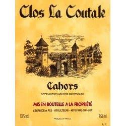 Clos La Coutale Cahors 2007