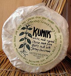 Nettle Meadow Kunik Cheese