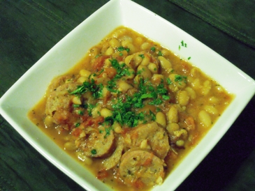 White bean cassoulet
