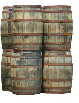 vintage whiskey barrel