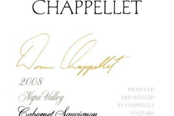 Chappellet 2008 Cabernet Sauvignon