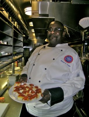 Chef Michael Vaughn with Ringling Bros Circus