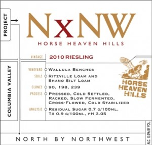 North by Northwest 2010 Riesling