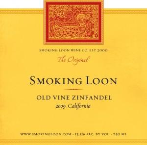 Smoking Loon 2009 Old Vine Zinfandel