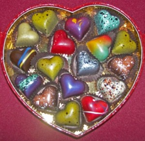 William Dean chocolate heart