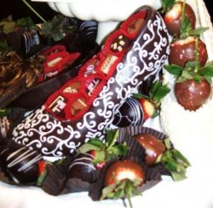 Original Leena's Chocolates chocolate shoe