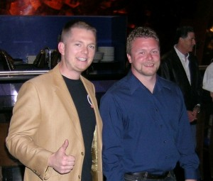 Todd Sturtz and Michael Blasco