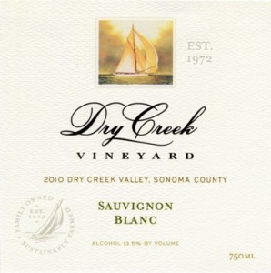 Dry Creek Vineyards 2010 Sauvignon Blanc