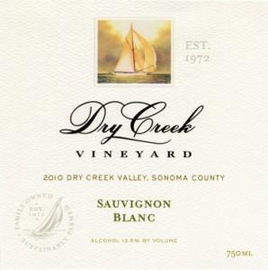 Dry Creek Vineyards 2010 Sauvignon Blanc