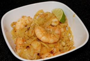 Spicy Shrimp with Fennel