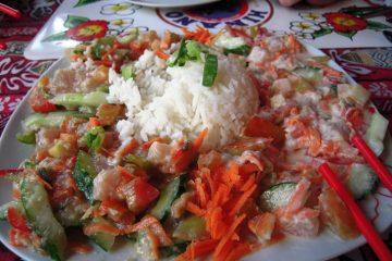 Ika Mata speciality of the island