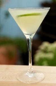 The traditional daiquiri cocktail