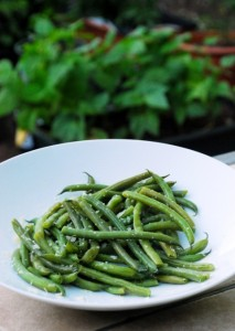 Truffled Green Beans