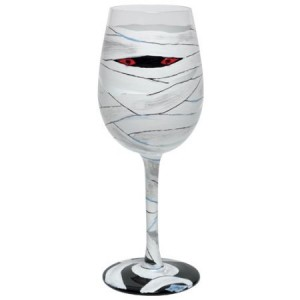 Mummy Wine Glass