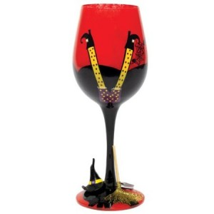Witch Wine Glass