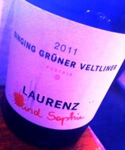 Laurenz V Singing Gruner Veltliner