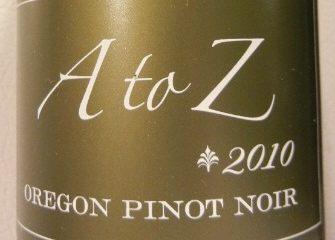 A to Z 2010 Pinot Noir