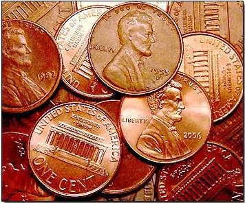 Saving Pennies