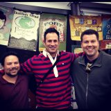 Robb, Kent and Sam Calagione