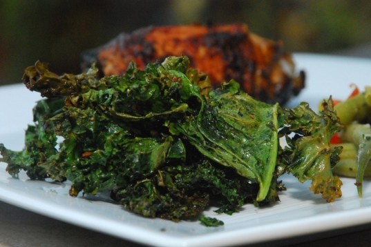 Delicious Roasted Kale