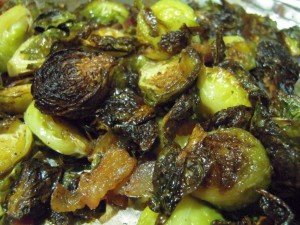 Delicious Roasted Brussels Sprouts with Bacon