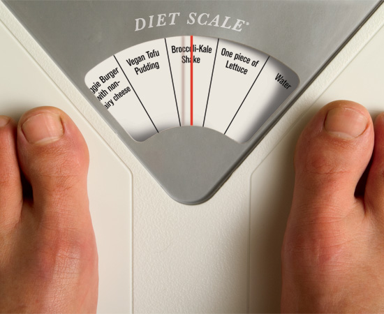 scary weight scale