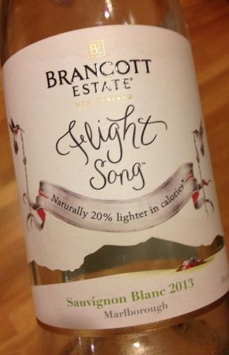 Brancott 2013 Flight Song Sauvignon Blanc