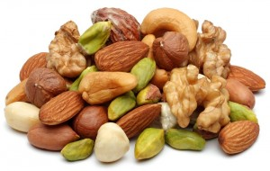 Nuts are stuff you should eat