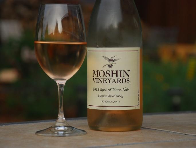 Moshin 2017 Rose Of Pinot Noir