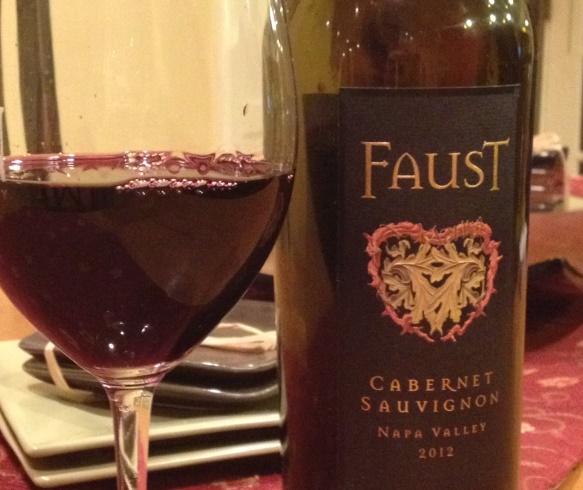 Faust 2012 Cabernet Sauvignon