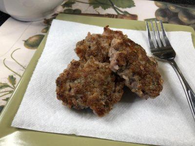 Homemade sausage patties recipe