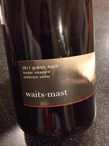 Waits-Mast Pinot Noir