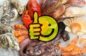 Enjoying shellfish again