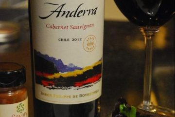 Anderra Cabernet and Chicken