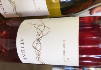 Attune 2014 Rose and 2013 Chardonnay