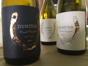 Dunstan Chard and Pinot at Taste of Sonoma