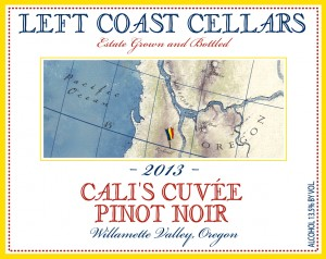 Left Coast Cellars 2013 Cali's Cuvee