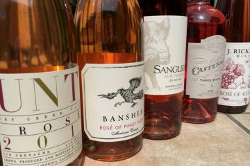 Sonoma County rose wines
