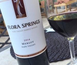 Flora Springs Napa Valley Merlot 2014