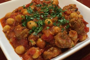 sausage-and-garbanzo-stew