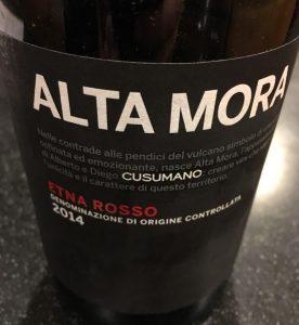 Alta Mora 2014 Rosso