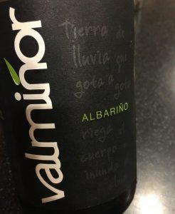 Valminor 2015 Albarino