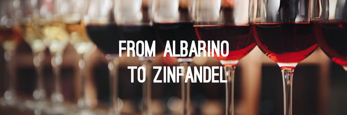 Wine Glossary from Albarino to Zinfandel